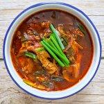 dak gae jang soupe de poulet épicée