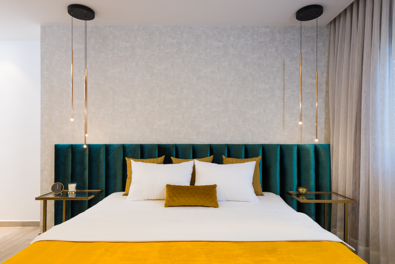 מיטה זוגית מעוצבת קינג סייז