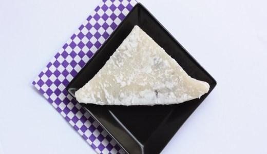 夏バテ予防になると聞いて「三角豆餅」を買ってみた