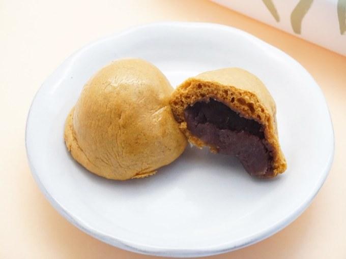 勝月堂 湯乃花饅頭 中身