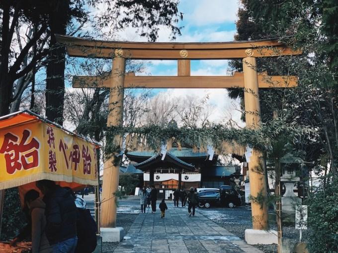 武水別神社 鳥居