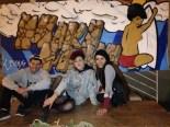 Resutado final del mural... espectacular!!!