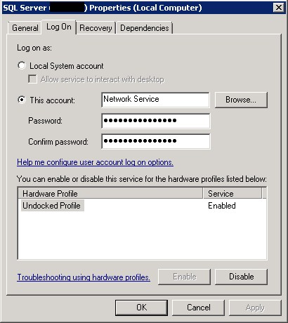 SQL Server 2005/2008 And Osql Command Line Error: Cannot open backup device '%DBNAME%'. Operating system error 5(Access is denied.)   Yuri's ...