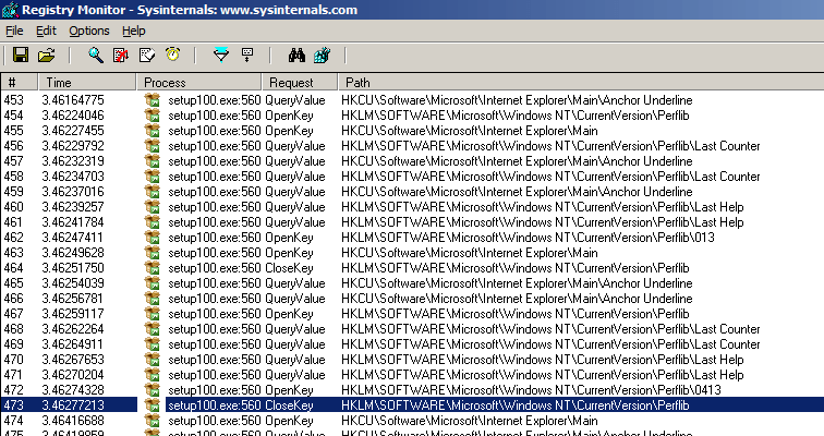 SQL Server 2008 Management Studio Express installation error: Performance counter registry hive consistency (failed) (3/5)