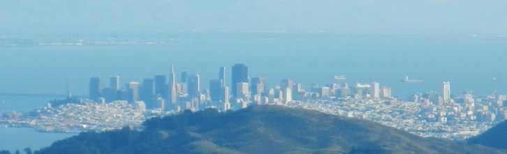 clear view of San Francisco