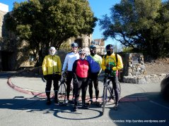L-R, Paul; patrick, Margie, Ron & John