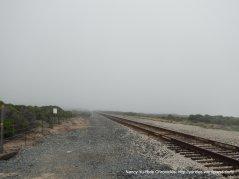 crossing RR tracks