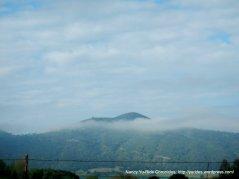 lingering morning fog