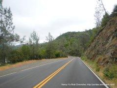 along Sage Canyon