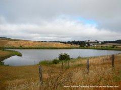 pond at the shooting range