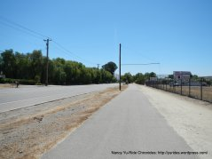 newly paved road-S Livermore Ave