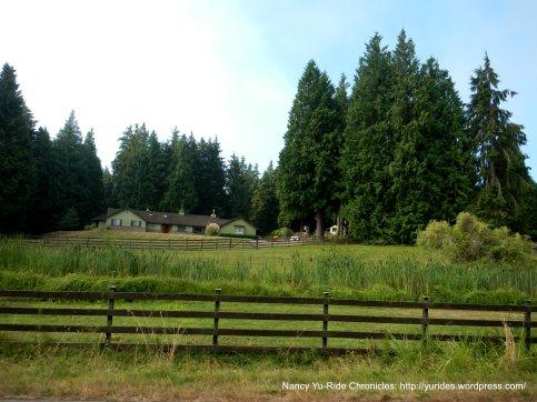 rural ranch home