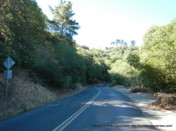 steep section on Pinehurst