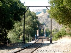 Niles Canyon train trestle