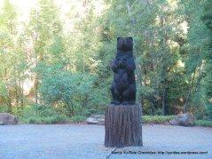 wooden bears
