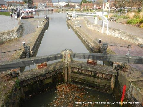 Basin Canal lock
