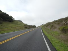 top of Pt Reyes Petaluma Rd