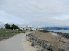 on SF Bay Trail-Marina Bay