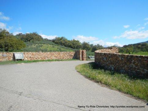 entrance Zaca Lake Retreat