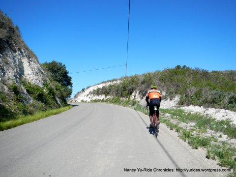 Santa Rosa Rd to the narrow gap