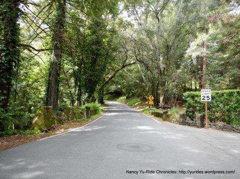 base of Old La Honda climb