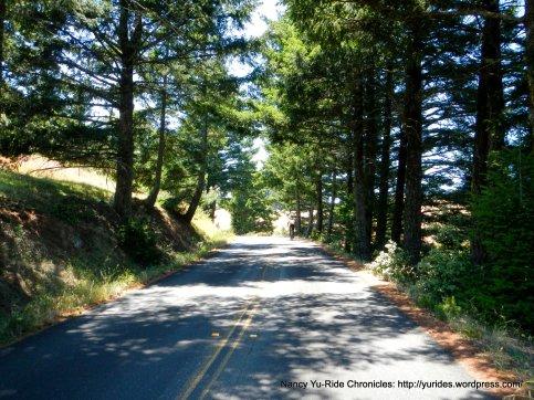 W Ridgecrest Blvd-Bolinas Ridge
