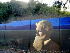 john muir mural-alhambra ave