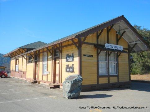 sunol train depot