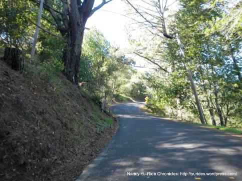 happy valley rd-steep climb