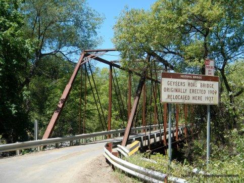geysers road bridge