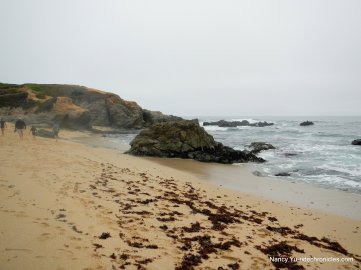 secluded cove beach