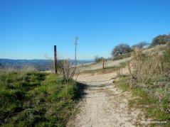 to ridge trail