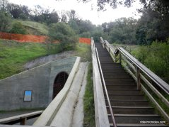 stairs to chaparral trail