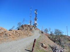 north peak rd-steep rocky slope
