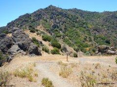 to north peak trail