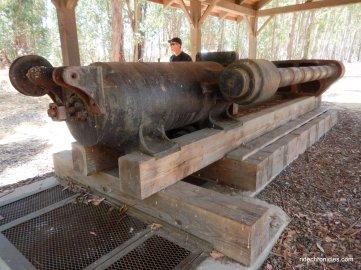 black powder press