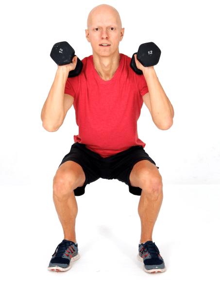 Best Fat Burning Leg Exercises - Squats