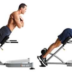 Roman Chair Back Extension Muscles Www Dining Chairs The 7 Abdominal Exercise Machines You Need To Stop Using Yuri Elkaim Hyperextension Extensions