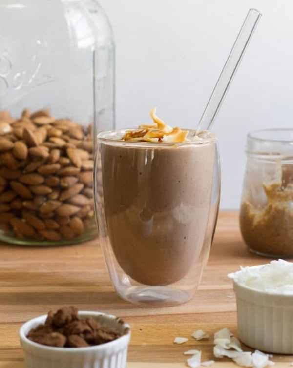 Post-Workout Smoothie - Chocolate Recovery Smoothie