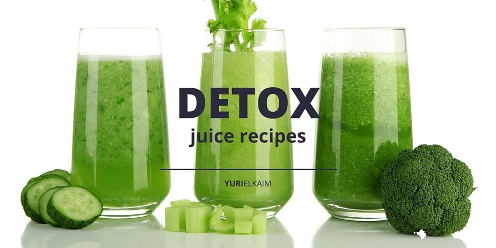 7 Green Detox Juice Recipes (No Fruit Added)