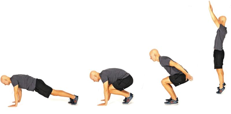 10 Best Bodyweight Exercises - Burpees