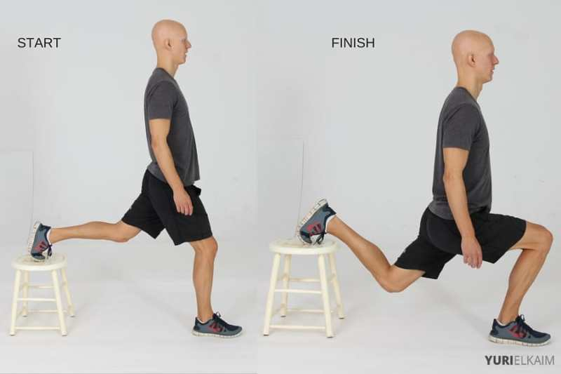 15 Best Bodyweight Exercises - Bulgarian Lunges