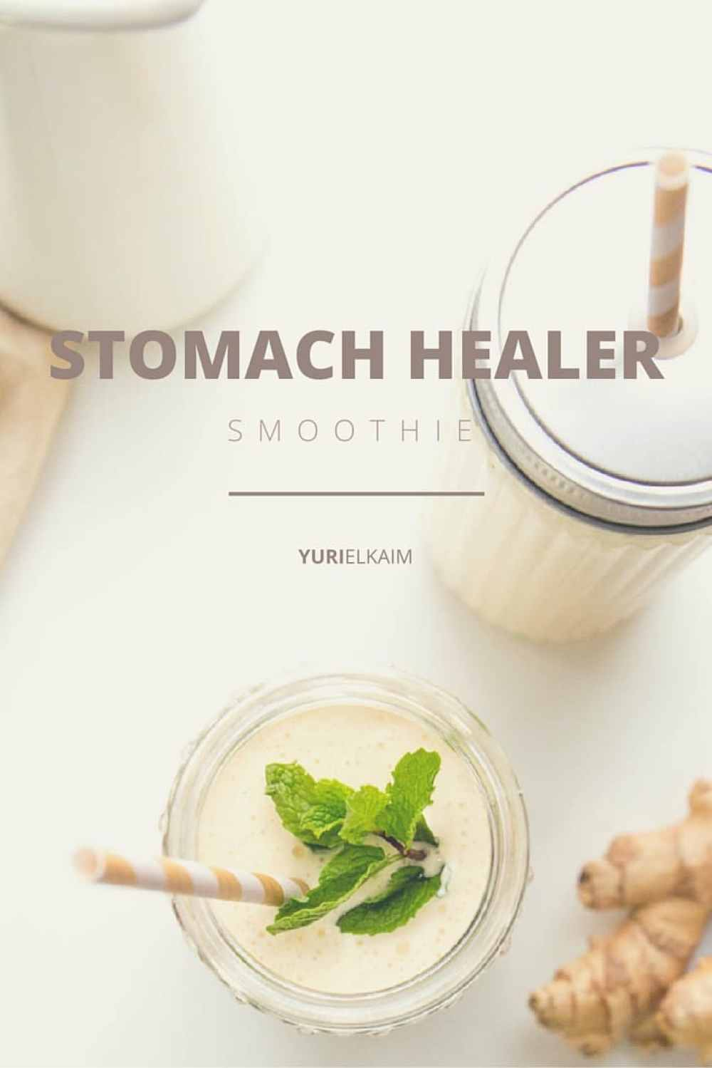 Gut Health - Stomach Healer Smoothie