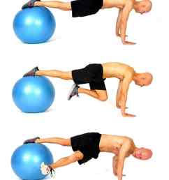 the 14 best ab exercises stability ball grasshopper [ 900 x 1200 Pixel ]