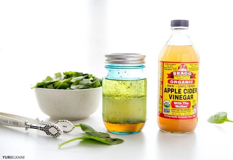 how to make white vinegar dressing