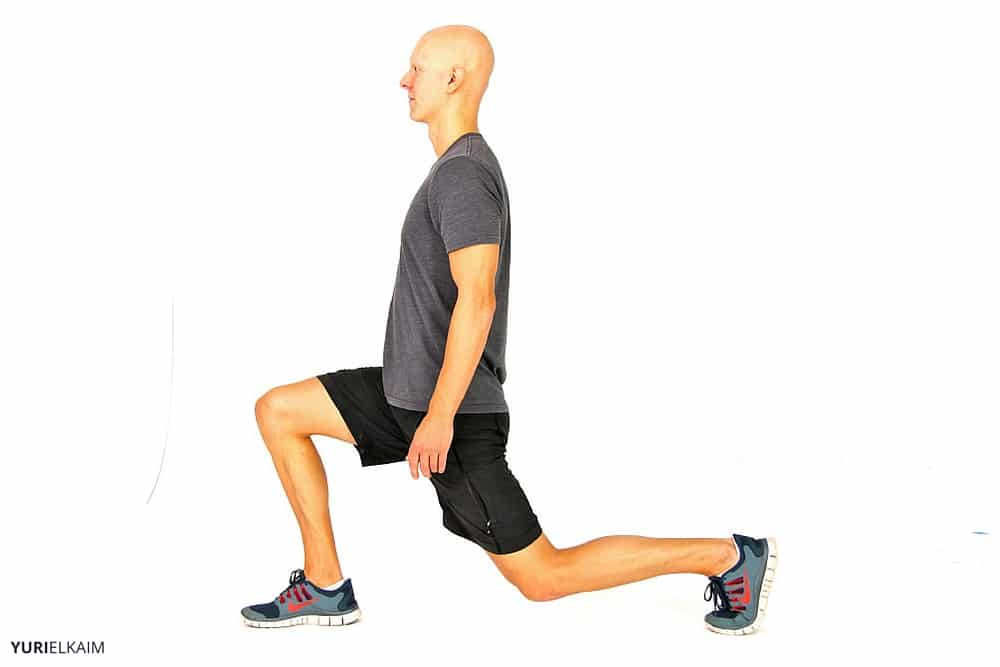 Bodyweight Workout Routine - Reverse Lunge Ending Position