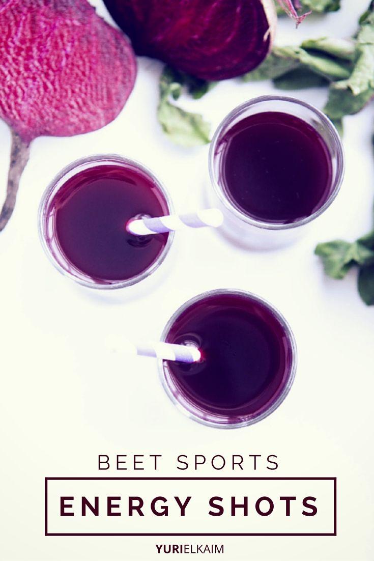 Beet Sports Energy Shots