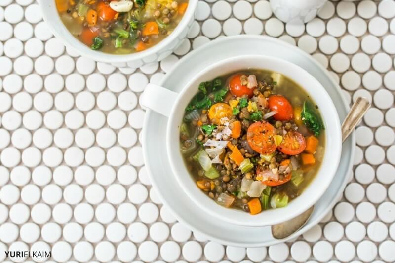 Easy Lentil Soup Recipe