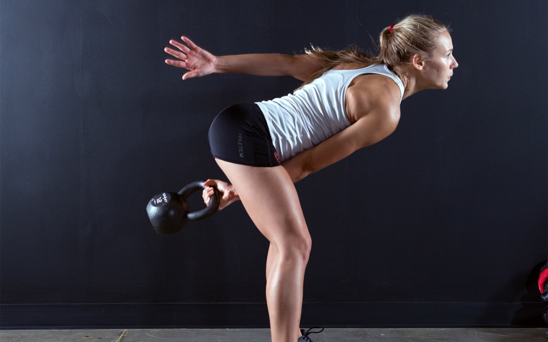 5 Ways to Do A Kettlebell Swing Workout