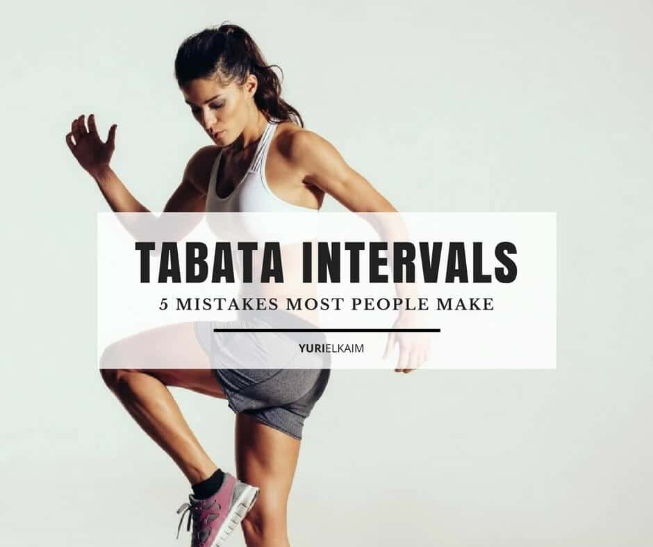 5 Mistakes Most People Make When Doing Tabata Intervals